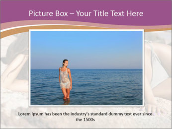 Model Shooting On The Beach PowerPoint Template - Slide 16