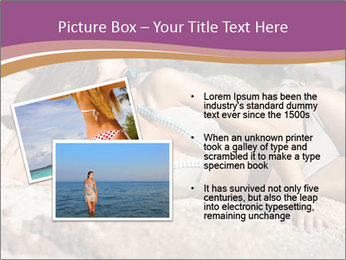 Model Shooting On The Beach PowerPoint Template - Slide 20