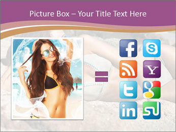 Model Shooting On The Beach PowerPoint Template - Slide 21
