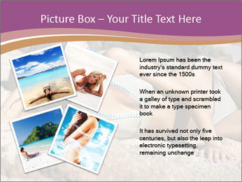 Model Shooting On The Beach PowerPoint Template - Slide 23