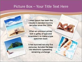Model Shooting On The Beach PowerPoint Template - Slide 24