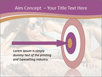 Model Shooting On The Beach PowerPoint Template - Slide 83