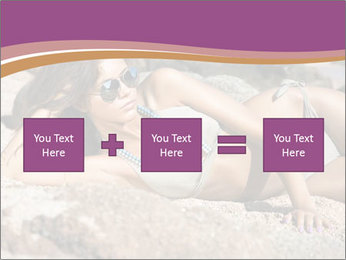 Model Shooting On The Beach PowerPoint Template - Slide 95