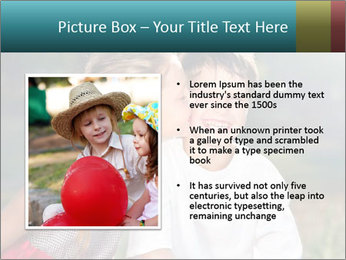 Sister's Kiss PowerPoint Templates - Slide 13