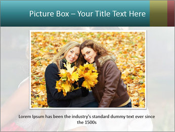 Sister's Kiss PowerPoint Templates - Slide 16