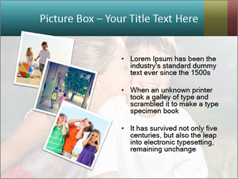 Sister's Kiss PowerPoint Template - Slide 17