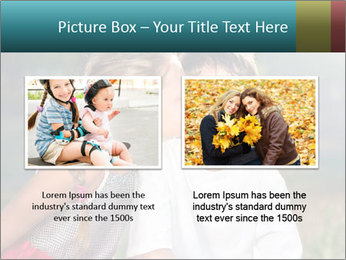 Sister's Kiss PowerPoint Templates - Slide 18