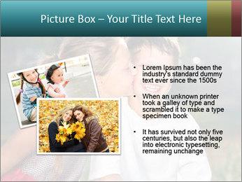 Sister's Kiss PowerPoint Template - Slide 20