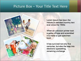 Sister's Kiss PowerPoint Template - Slide 23
