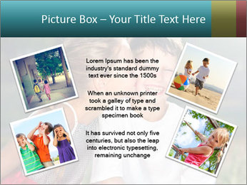 Sister's Kiss PowerPoint Templates - Slide 24