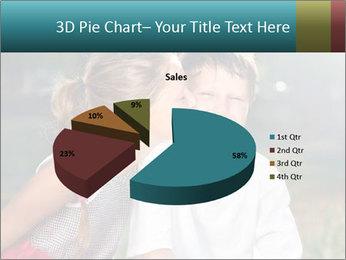 Sister's Kiss PowerPoint Template - Slide 35