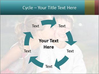 Sister's Kiss PowerPoint Template - Slide 62