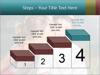 Sister's Kiss PowerPoint Template - Slide 64