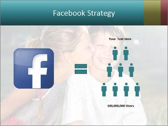 Sister's Kiss PowerPoint Template - Slide 7