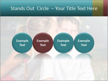 Sister's Kiss PowerPoint Template - Slide 76