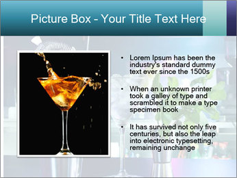 Cocktail With Ice PowerPoint Template - Slide 13