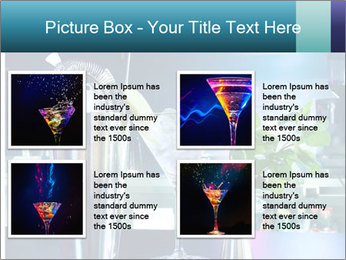 Cocktail With Ice PowerPoint Template - Slide 14