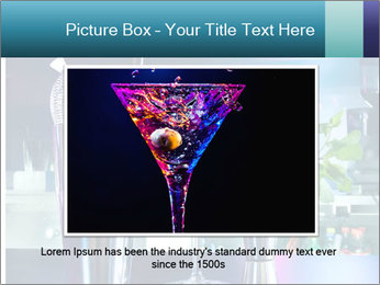 Cocktail With Ice PowerPoint Template - Slide 15