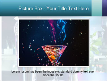 Cocktail With Ice PowerPoint Template - Slide 16