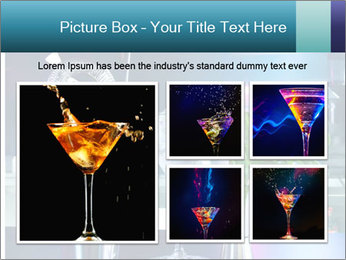 Cocktail With Ice PowerPoint Templates - Slide 19