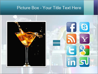 Cocktail With Ice PowerPoint Templates - Slide 21