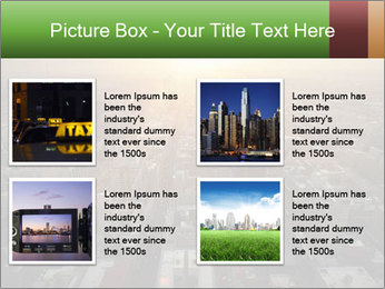 City During Dawn PowerPoint Template - Slide 14