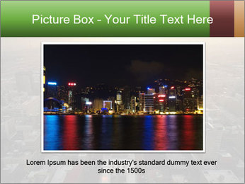 City During Dawn PowerPoint Template - Slide 15
