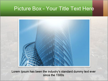City During Dawn PowerPoint Template - Slide 16