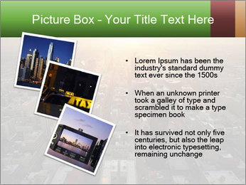 City During Dawn PowerPoint Template - Slide 17
