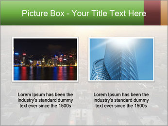 City During Dawn PowerPoint Template - Slide 18