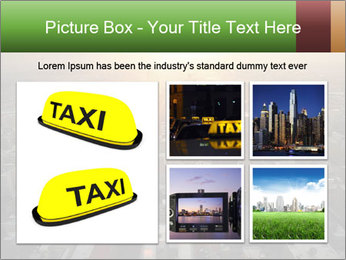 City During Dawn PowerPoint Template - Slide 19