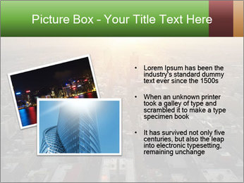City During Dawn PowerPoint Template - Slide 20