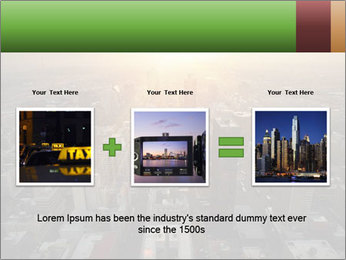 City During Dawn PowerPoint Template - Slide 22