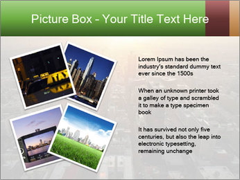 City During Dawn PowerPoint Template - Slide 23