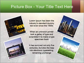 City During Dawn PowerPoint Template - Slide 24