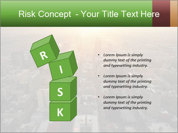 City During Dawn PowerPoint Template - Slide 81