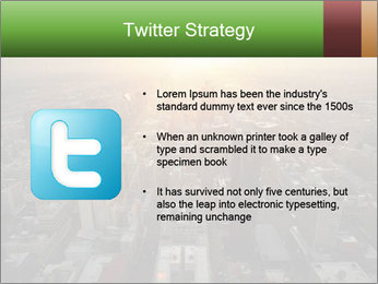 City During Dawn PowerPoint Template - Slide 9