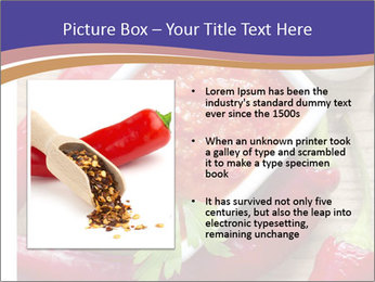 Red Sauce PowerPoint Template - Slide 13