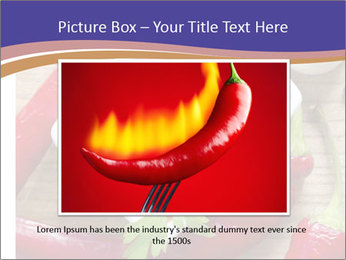 Red Sauce PowerPoint Template - Slide 15