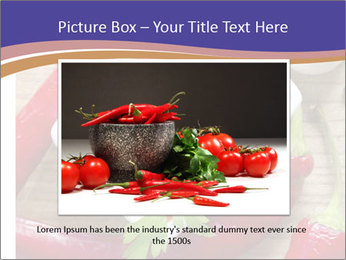 Red Sauce PowerPoint Template - Slide 16