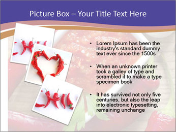 Red Sauce PowerPoint Template - Slide 17
