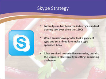 Red Sauce PowerPoint Template - Slide 8