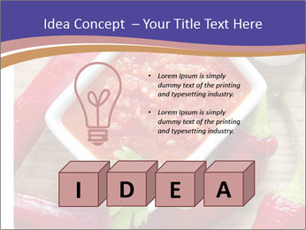 Red Sauce PowerPoint Template - Slide 80