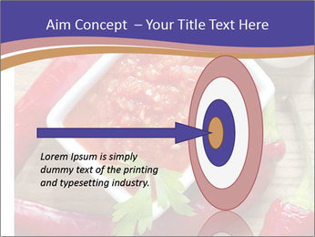 Red Sauce PowerPoint Template - Slide 83