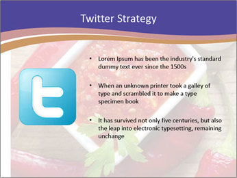 Red Sauce PowerPoint Template - Slide 9