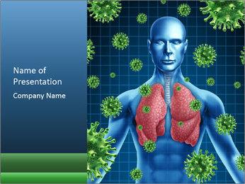 Human Body Model PowerPoint Template