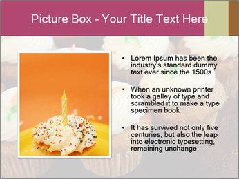 Cute Cupcakes PowerPoint Templates - Slide 13