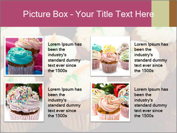 Cute Cupcakes PowerPoint Templates - Slide 14