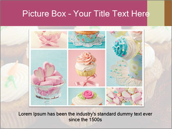 Cute Cupcakes PowerPoint Templates - Slide 16