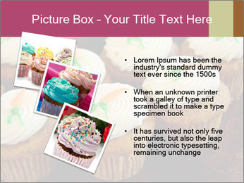 Cute Cupcakes PowerPoint Templates - Slide 17